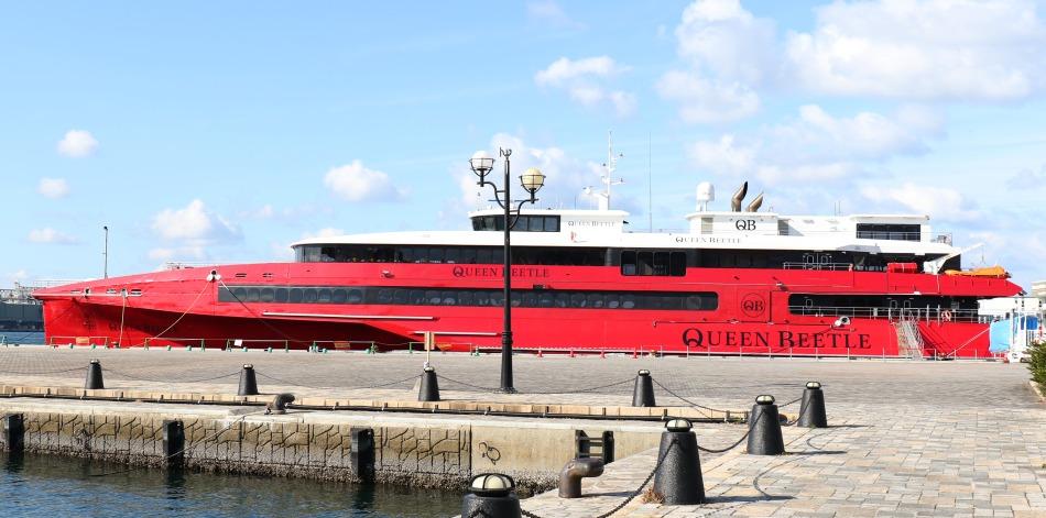 ビートル クイーン パナマ籍の新型高速船、国内就航へ 日韓航路運休で特例:朝日新聞デジタル